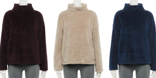 WOW! Sherpa Sweater Only $12.80 + HOT Buys on Women's Jackets on Kohls.com