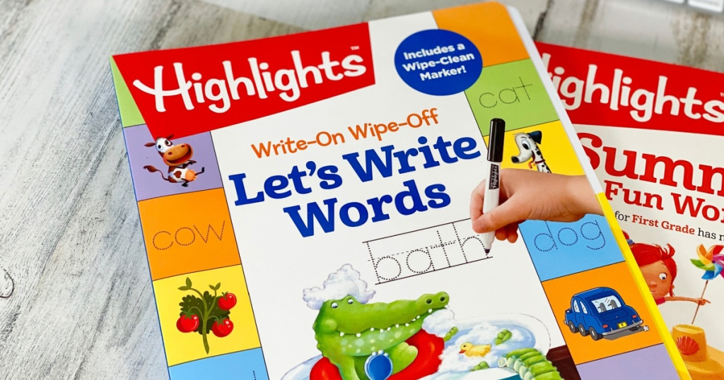 Highlights Let's Write Words Workbook