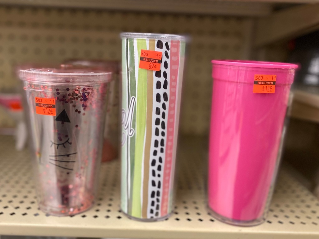 Travel Tumblers at hobby lobby