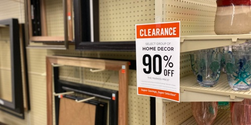 90% Off Home Decor Clearance at Hobby Lobby | Wall Decor, Frames, Mugs & More