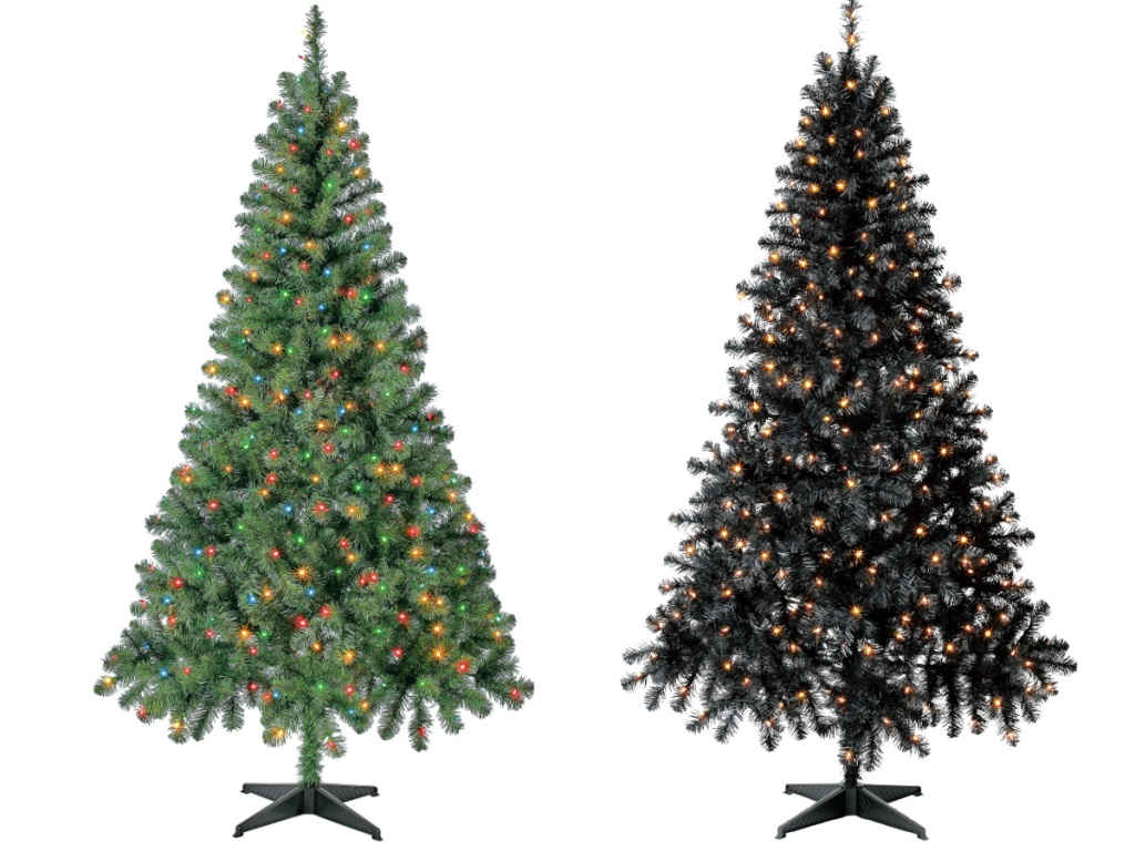 Holiday Time Pre-Lit Madison Pine 6.5-Foot Artificial Christmas Tree