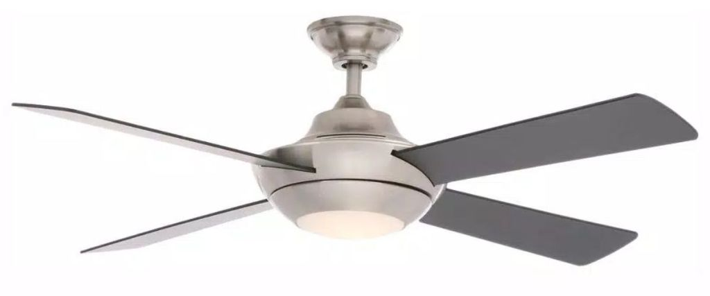 "Home Decorators Collection Moonlight II 52"" LED Ceiling Fan w/ Light Kit"