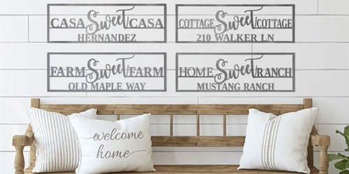 Custom Metal Signs $21.99 Shipped on Jane.com + Free Shipping on Select Items