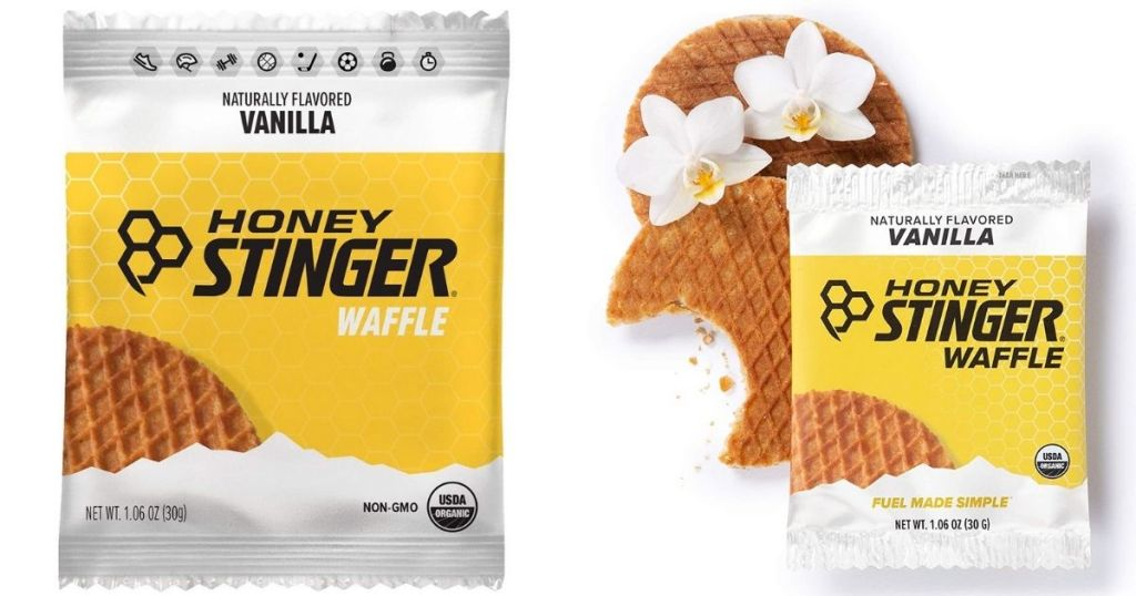 Honey Stinger Waffle Vanilla in packaging