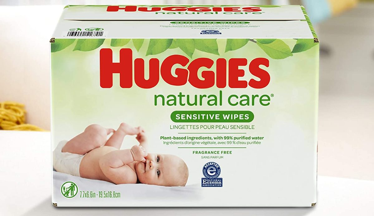 box of baby wipes