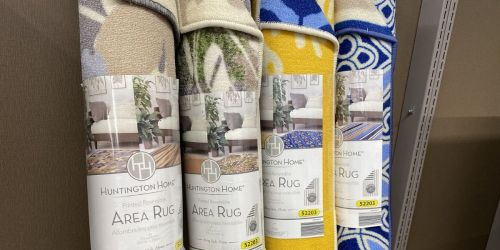 Reversible 5×7 Area Rugs Only $39.99 at ALDI