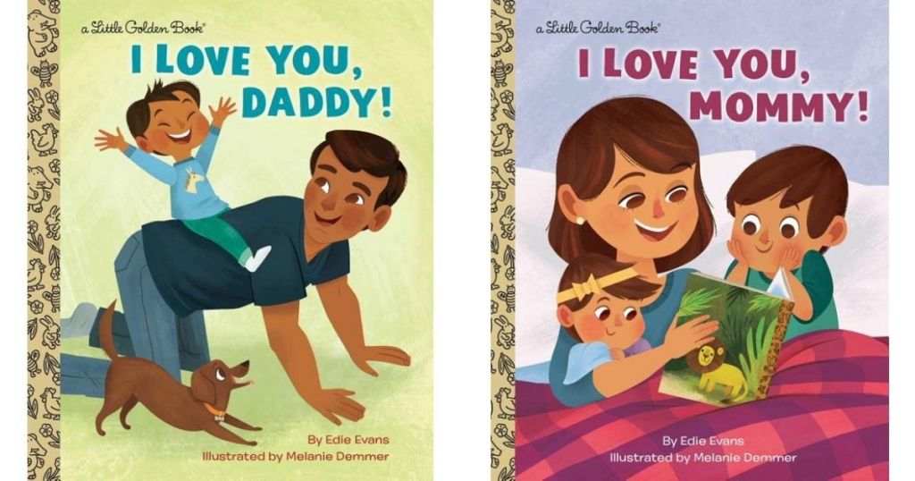two I Love You Little Golden Books
