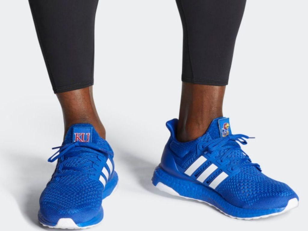 Kansas Jayhawks Ultraboost 1.0 DNA Shoes