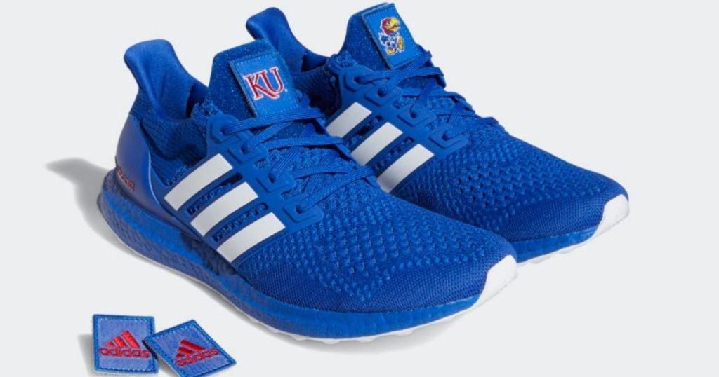 Adidas Kansas Jayhawks Ultraboost 1.0 DNA Shoes