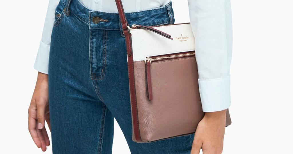 Kate Spade brand crossbody bag