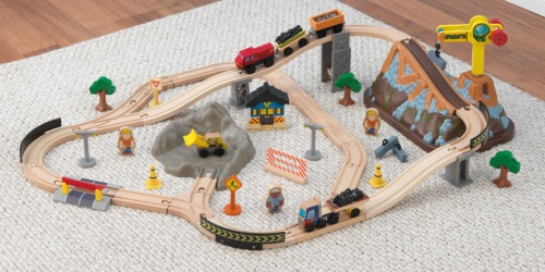 KidKraft Train Set w/ 61 Accessories & Carrying Case Only $21.64 on Walmart.com (Regularly $44)