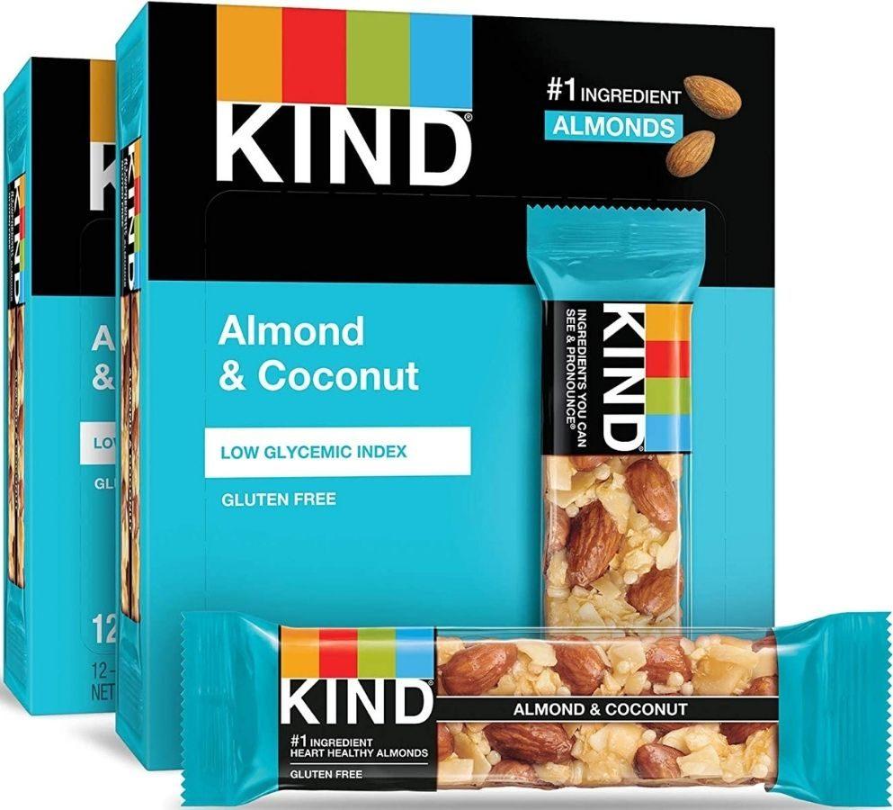 Kind Almond & coconut bars
