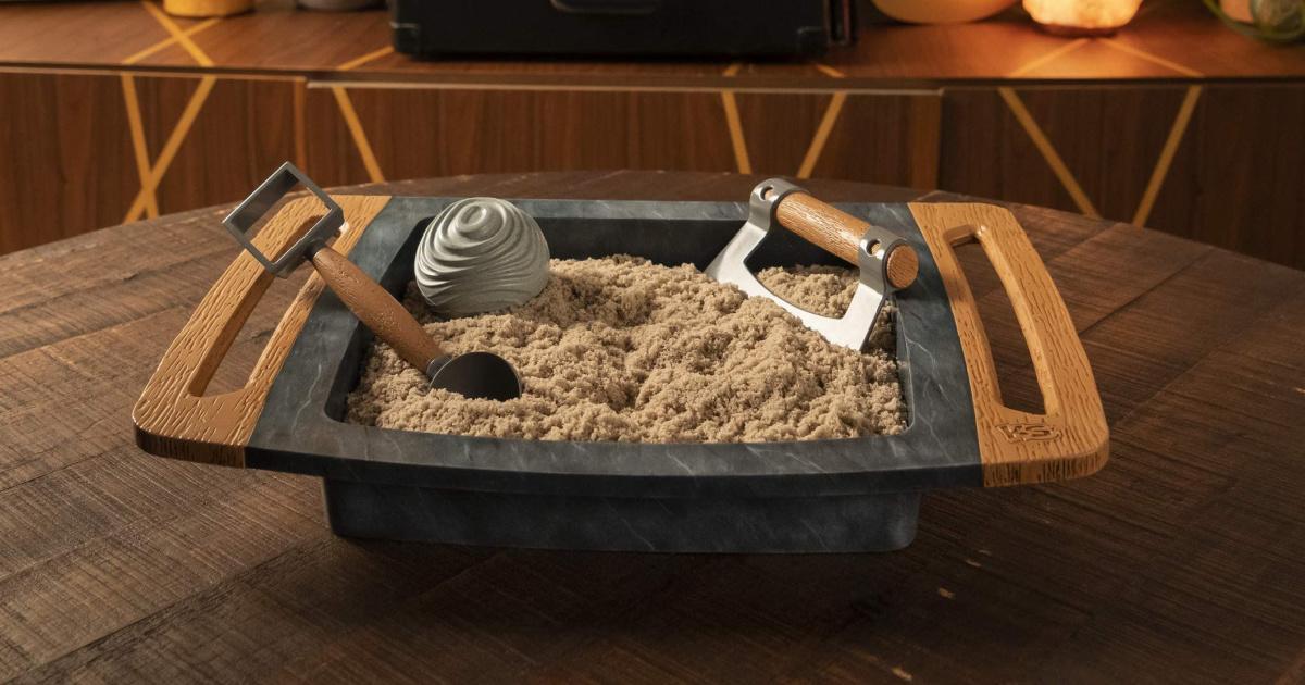 Kinetic Kalm Zen Sandbox