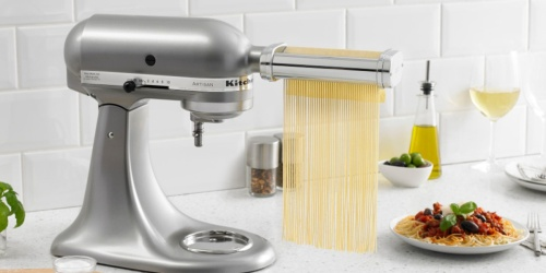 KitchenAid Attachment Bundle Only $129.99 Shipped (Regularly $250) | Includes Pasta Cutter & Slicer/Shredder