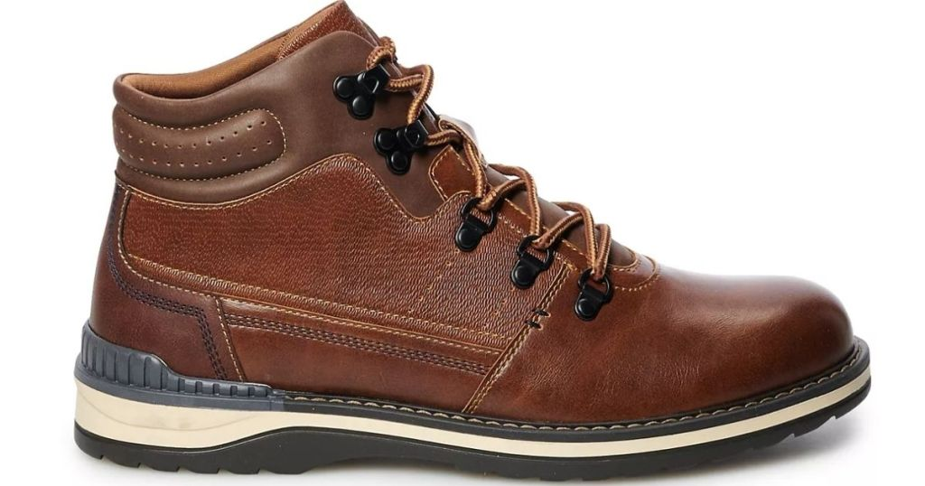Brown Kohl's Mens Boots