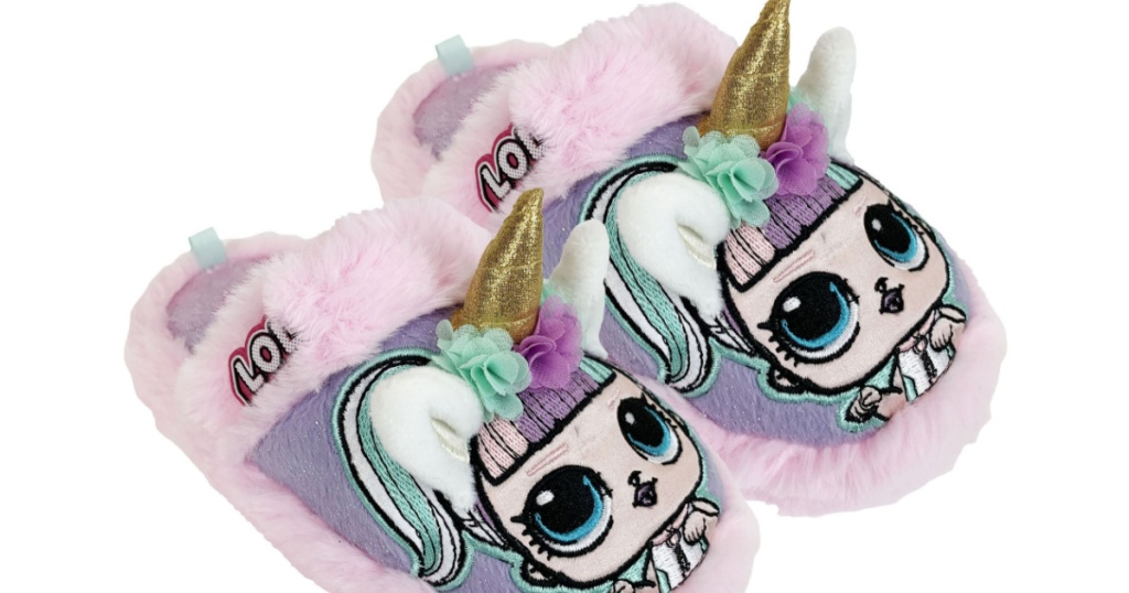 L.O.L Surprise! Cozy Unicorn Scuff Slipper