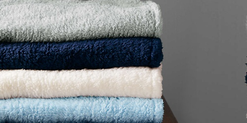 Lands' End Throw Blankets from $7.48 (Regularly $25+) | Fleece, Sherpa & More