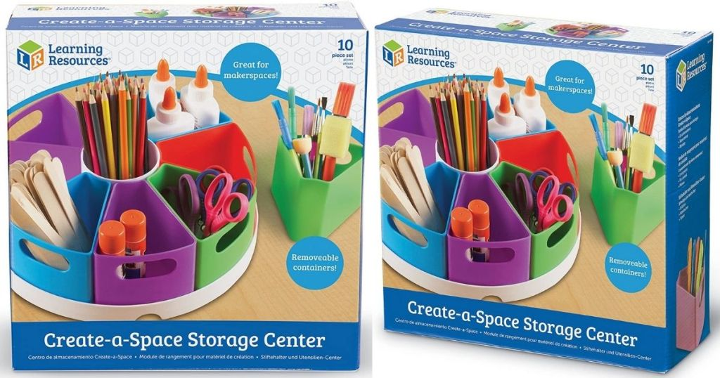 Learning Resources Organization Creat -A-Space Center in packaging