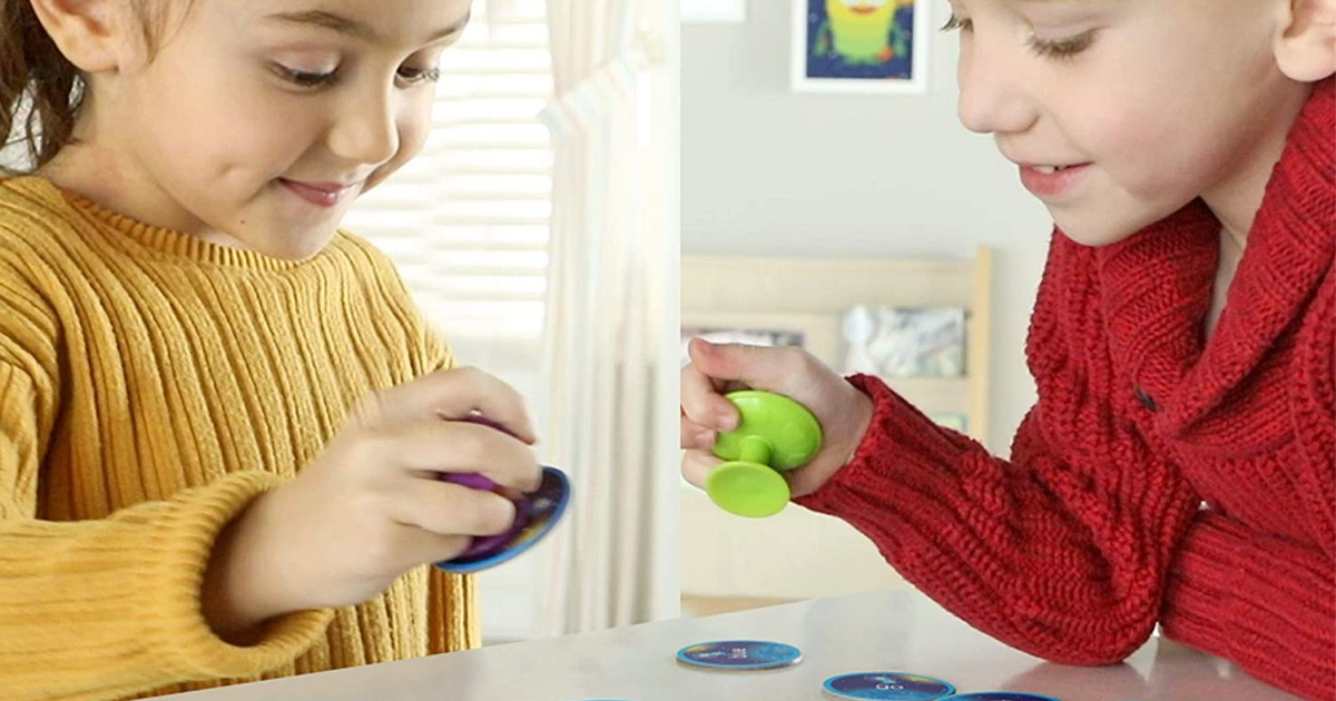 kids playing a game
