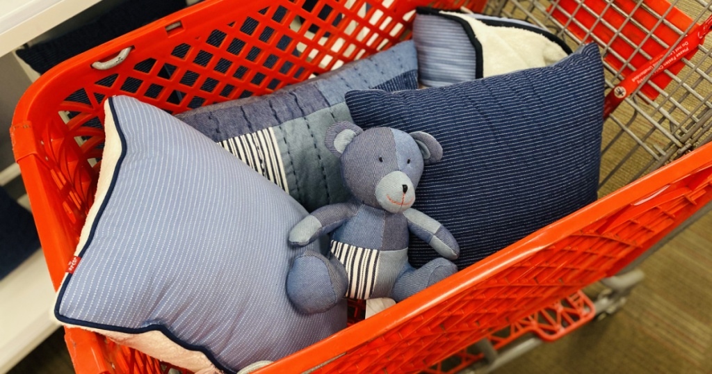 Levi's Pillows and Bear from Target