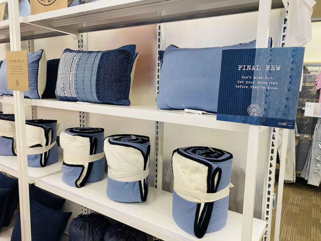 Levi's Pillows and Blankets