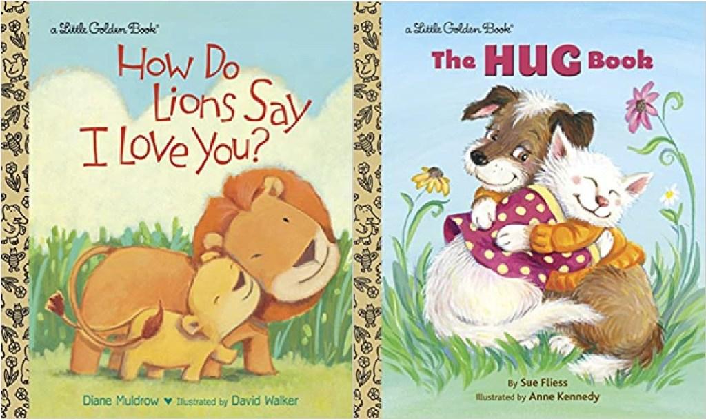 2 hardcover little golden books