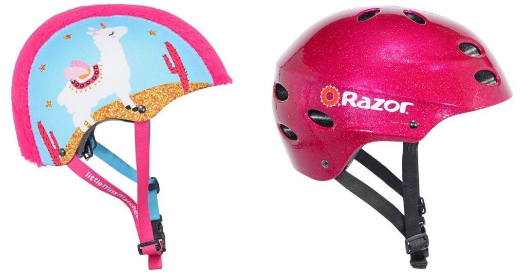 Little MissMatched & Razor Kids Bike Helmet