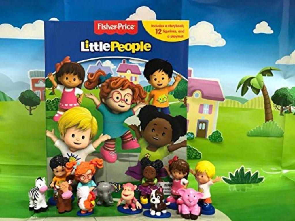 Little People Busy Book