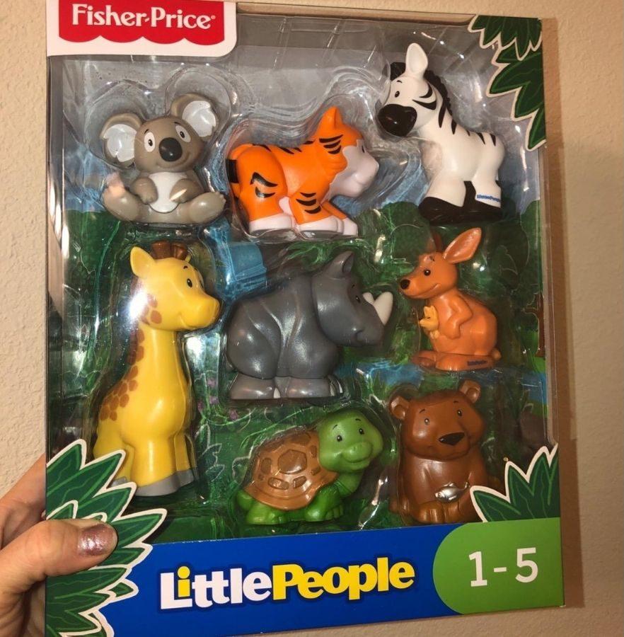 Little People Safari Animal Set in Box
