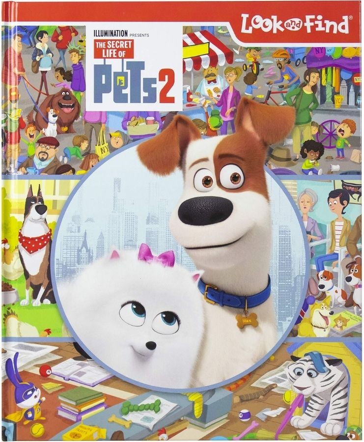 Look and find The Secret Life of Pets 2 Book