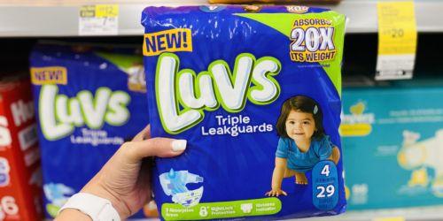 GO! Luvs Diaper Packs Only $1.99 Each After Cash Back on Walgreens.com