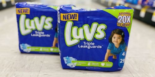 Luvs Diaper Packs Only $3 Each After Cash Back at Walgreens | Starts 2/28