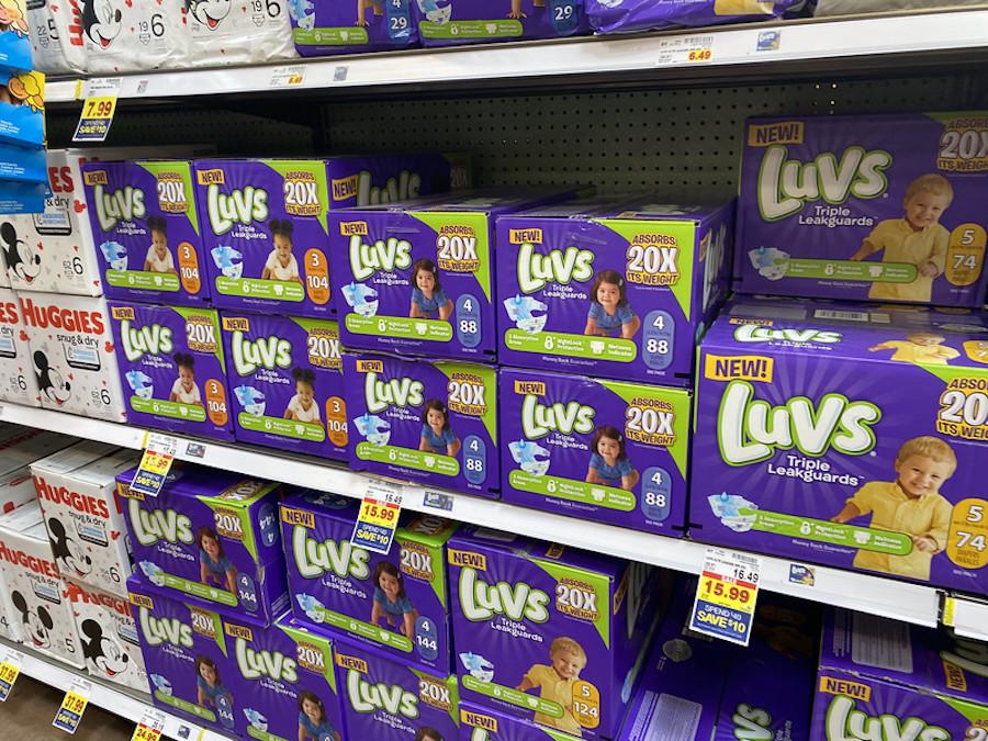 Luvs Diapers at Kroger