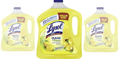 Lysol Multi-Surface Cleaner 90oz Bottle Only $4.97 on Amazon