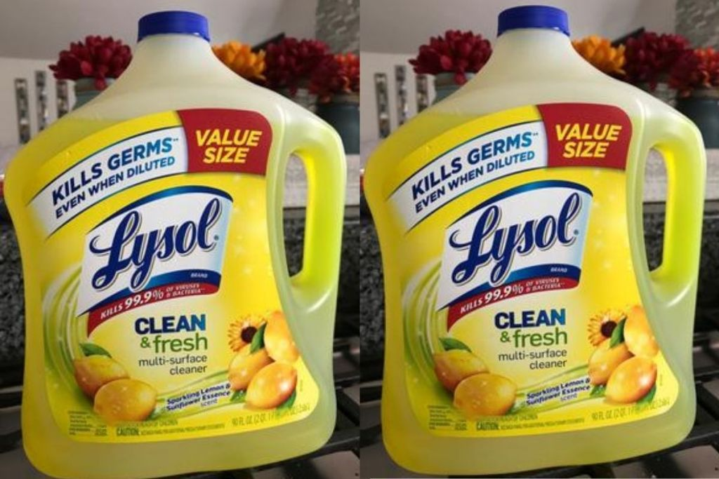 2 value size Lysol Cleaners