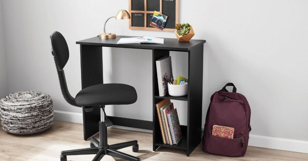 Mainstays Desk in a home office setting