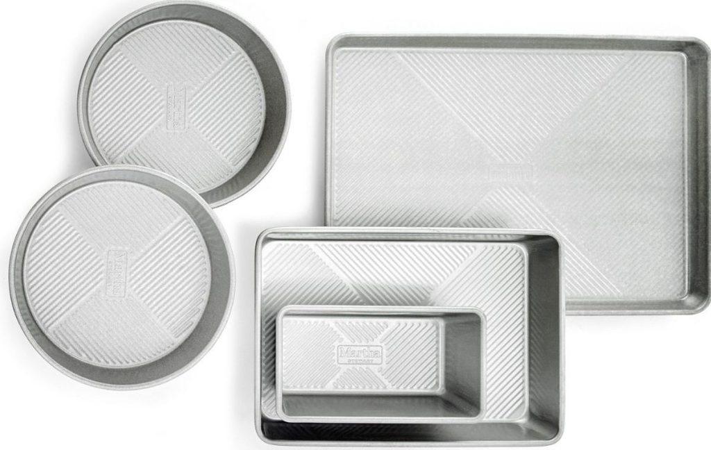 Martha Stewart Culinary Science 5-piece Bakeware Set