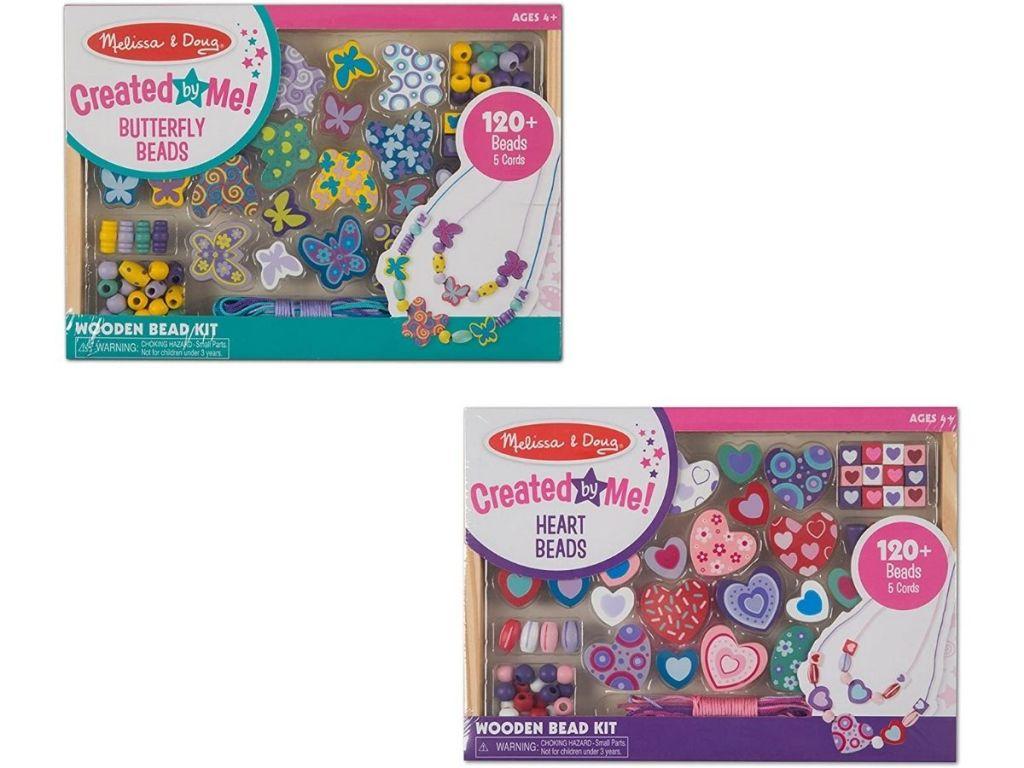 Melissa & Doug Bead Kits in packaging