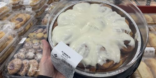 This Huge Tray of Cinnamon Rolls is Just $4.98 at Sam's Club