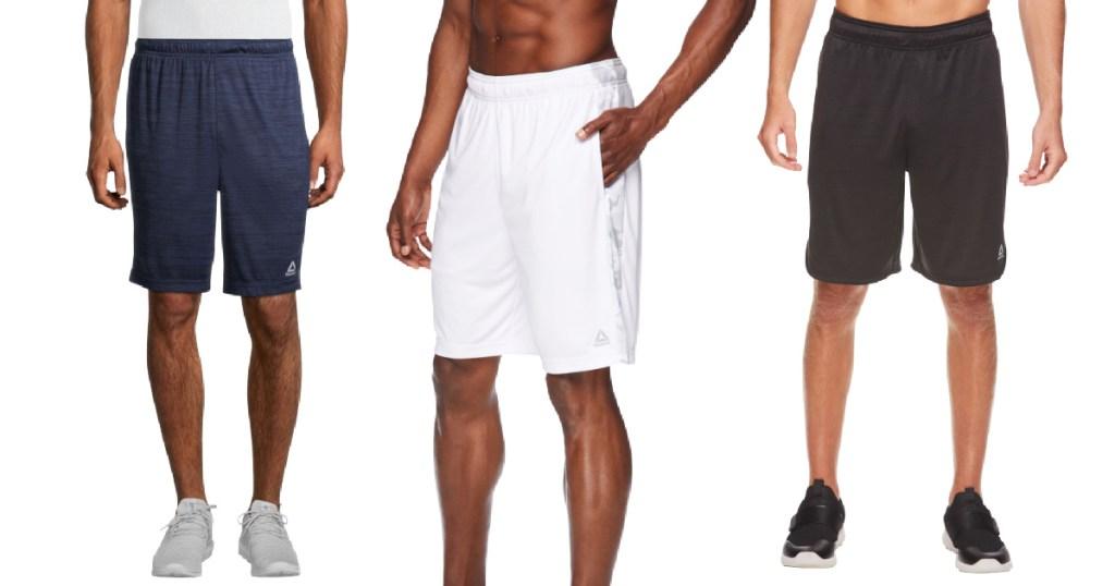 Men's Reebok shorts on men