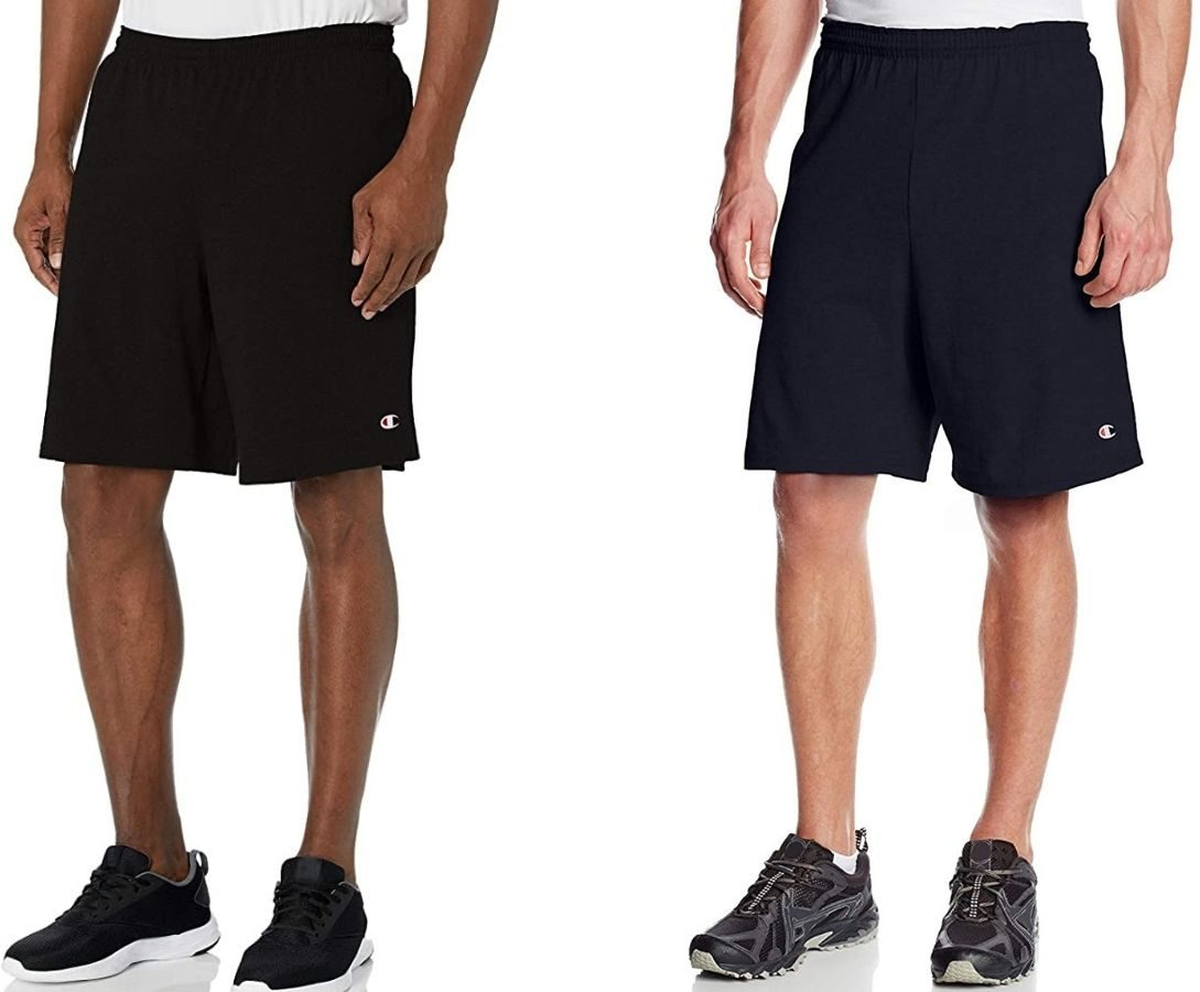 Two Men's champion Jersey Shorts
