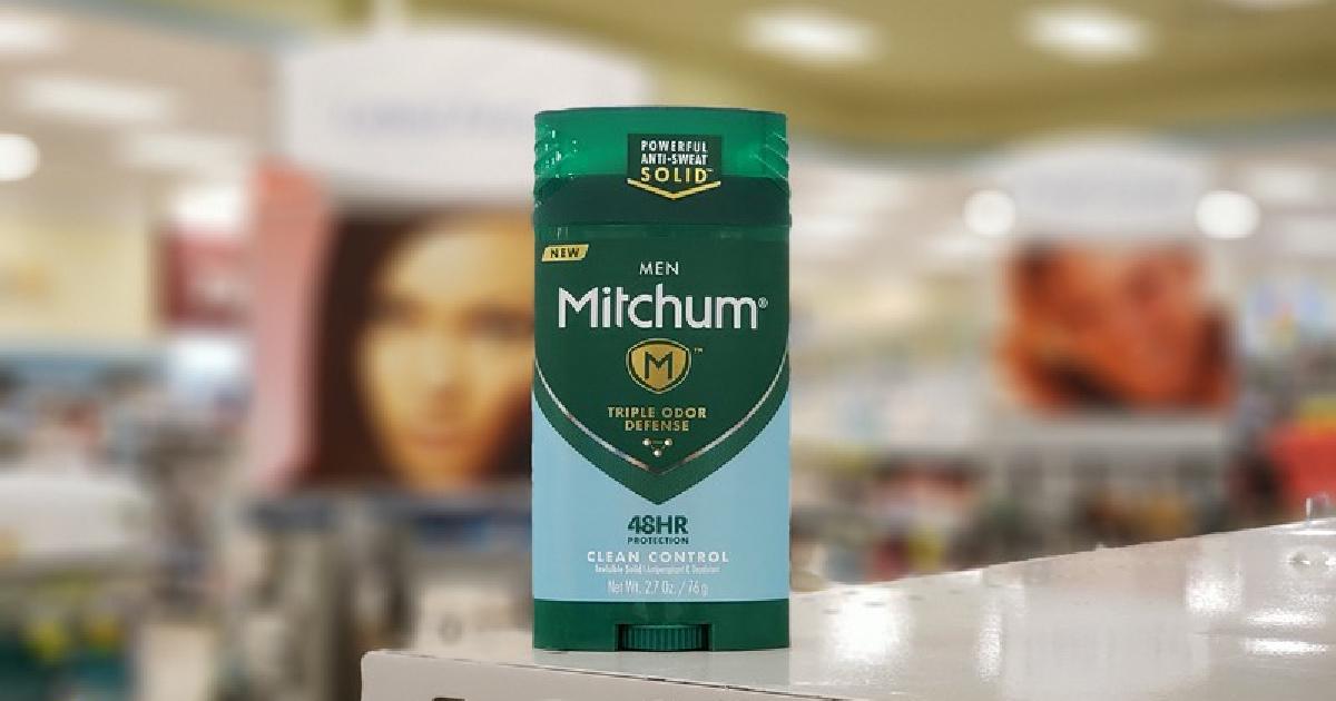 Mitchum Clean Control Deodorant