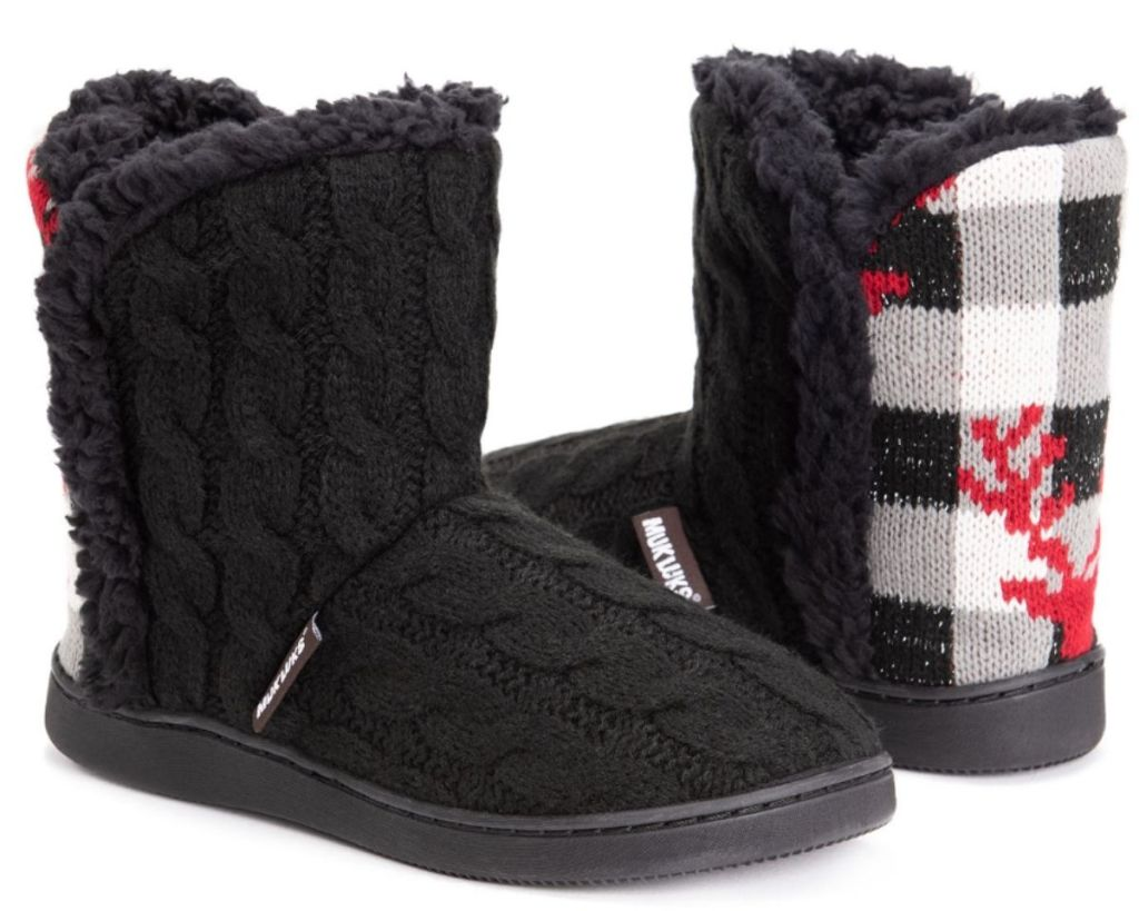 brown Muk Luks Women's JCP Boots