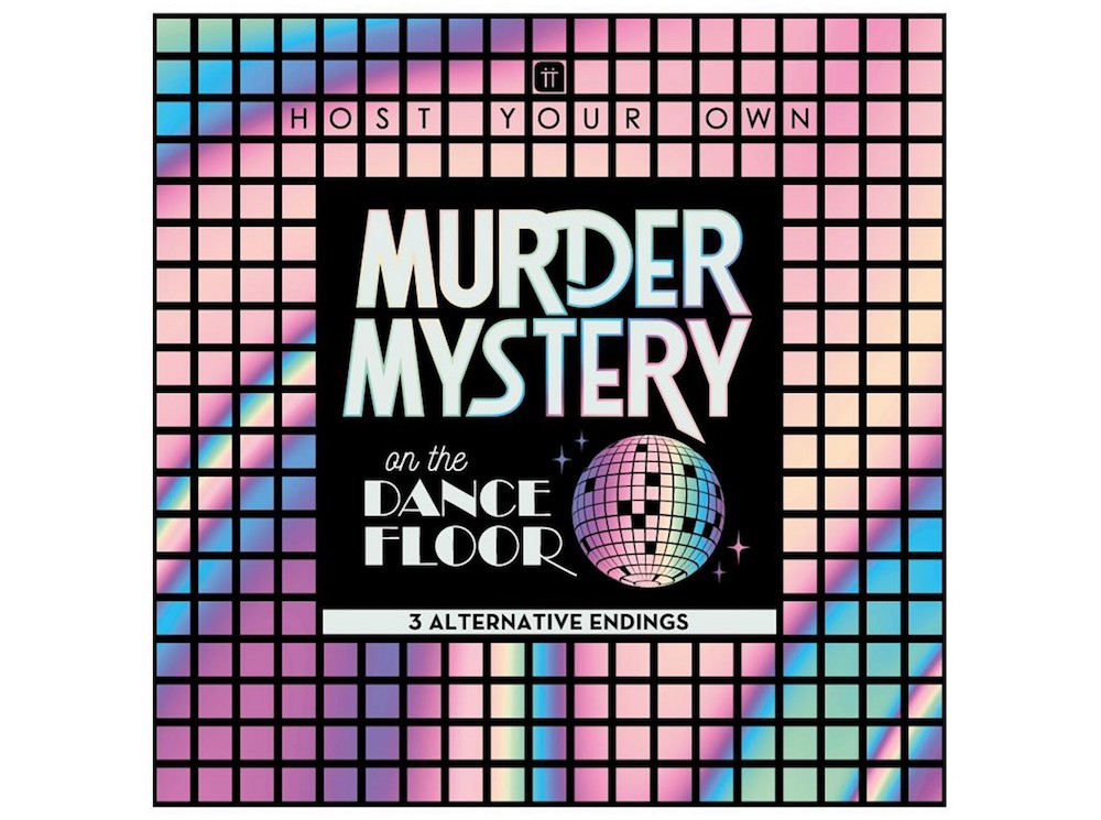 Murder Mystery Game Box