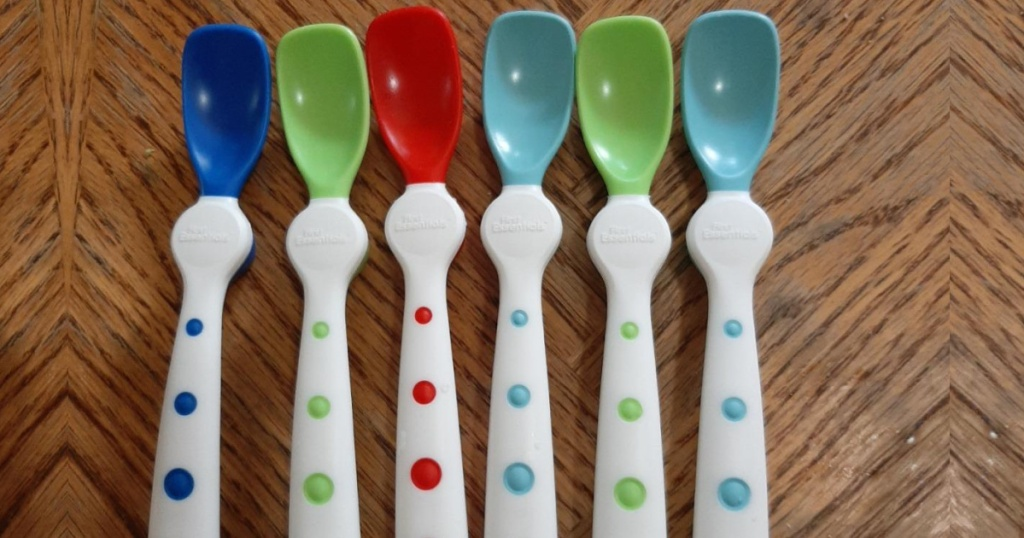 NUK First Essentials Rest Easy Spoons 6-Pack
