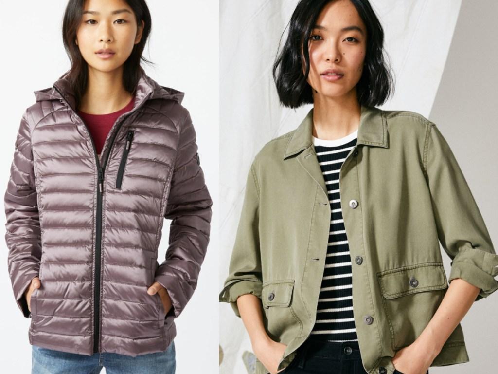 2 women wearing nautica clothing
