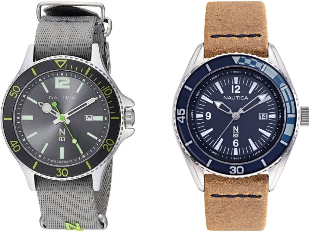 Two Nautica Men's Watches