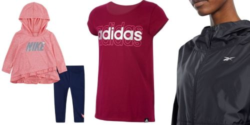 Athletic Apparel for the Family from $8.99 on JCPenney.com | Adidas, Nike, & More