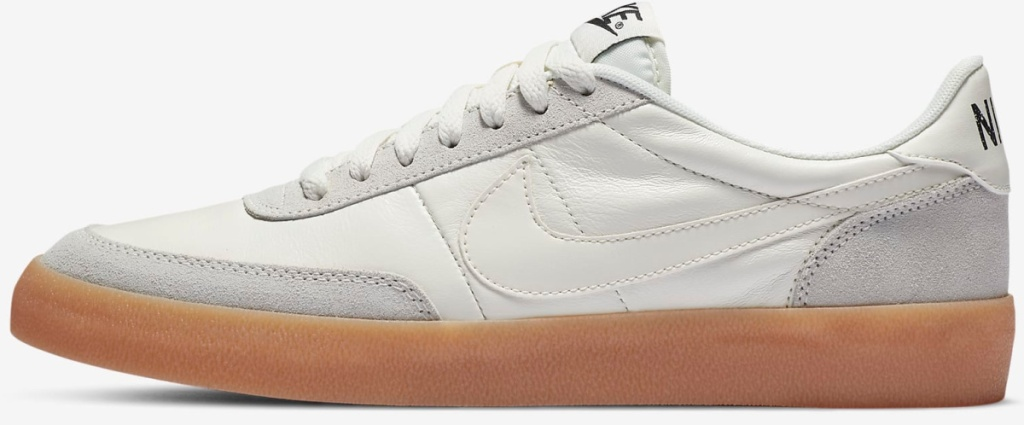 white and grey Nike Killshot 2 Leather