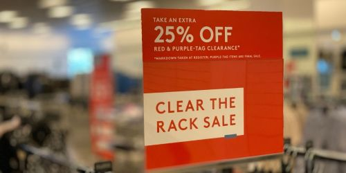 *HOT* Shop Nordstrom's Clear the Rack Sale & Save up to 85% Off Apparel & Footwear